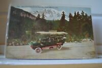 C 1910 Pike's Peak From Crystal Park Auto Road Manitou Colorado Postcard