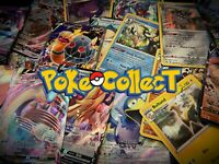 Pokemon Card Lot 10 Holo Pack w/ 1 GUARANTEED V, VMAX, Full Art, or Rainbow Rare