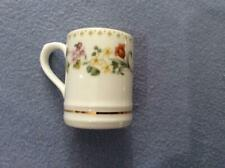 "Wedgwood Mirabelle bone china miniature 1 1/2""  tankard"