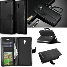 DK For Huawei Sony Nokia ZTE Phone Strap Wallet ID Card Flip Leather Case Cover