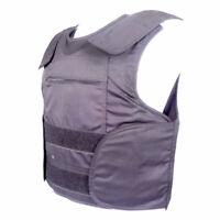 UHMWPE Bulletproof Body Armor Vest With Plate Pockets Covert  NIJ IIIA Defense