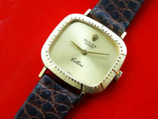AUTHENTIC  WOMEN'S  ROLEX  CELLINI  4082  MANUAL   WINDING  18K  YELLOW  GOLD