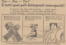 V0565 Crema depilatoria VEET - Pubblicità d'epoca - 1931 vintage advertising