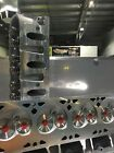 GM LS1 FULL CNC HEADS STAINLESS STEEL VALVES PAC .660' DUAL SPRINGS RACE DRAG SS