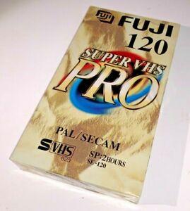 FujiFilm Pro E-120 S-VHS Format Video Tape, brand new & unused