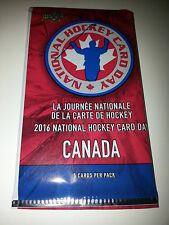 2016 Upper Deck National Hockey Card Day in Canada Pack Domi McDavid Giveaway
