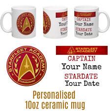 Star Trek Personalised Ceramic Mug Great Star fleet Birthday Gift Christmas