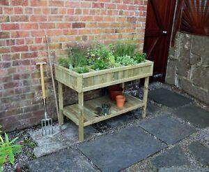 Zest Raised Herb bed  Wooden Planter 20781
