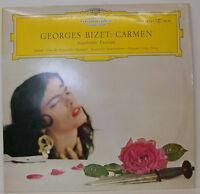 "Georges Bizet Carmen Ausscnitte Metternich Stader Fölser Friscay 12 "" LP (e75)"