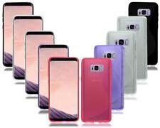 Fundas y carcasas Para Samsung Galaxy S8 color principal negro de silicona/goma para teléfonos móviles y PDAs