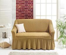 Stretch Sofaüberwurf  2 Sitzer 3 Sitzer Dreisitzer Zweisitzer Bezug 2-Sitzerbezu