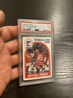 Michael Jordan PSA 5 EX 1989 Hoops #21 Chicago Bulls INVESTMENT Last Dance NR
