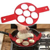 Silicone Non Stick Flipper Pancake Pan Perfect Breakfast Maker Egg Omelette Tool