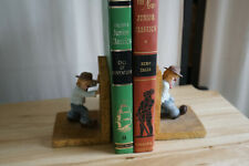 Little Emmett Clown Bookends 1994 Flambro Euc Emmett Kelly 9154