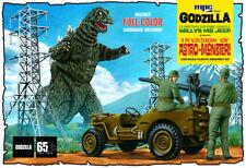 1:25 AMT GODZILLA Willys MB ARMY Jeep Plastic Model Kit *MISB*