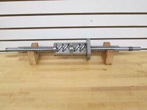 NSK PRECISION GROUND BALLSCREW; 10mm PITCH, 36mm THREAD DIA ~NEW~