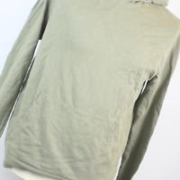 Topman Green Cotton Mens Hoodie Size M