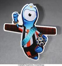 OLYMPIC PINS 2012 LONDON ENGLAND UK MASCOT MANDEVILLE REGIONAL NORTH EAST