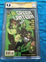 Green Lantern v3 #100 - DC - CGC SS 9.8 - Signed by Ron Marz - Kyle Variant