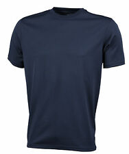 Maglie e top da uomo traspirante blu per palestra, fitness, corsa e yoga