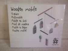 Sebra Wooden Cot / Nursery Mobile Village Girl - New In Sealed Box
