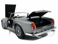 FERRARI 250 CALIFORNIA SPIDER SWB ELITE GRAY 1:18 MODEL CAR BY HOTWHEELS P9896