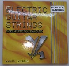 Electric Guitar Strings Nickel-Plated Round Wound Medium Gauge Allparts New