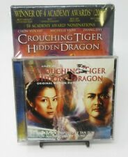 Crouching Tiger Hidden Dragon Dvd Movie + Soundtrack Music Cd Combo Pack, Ws