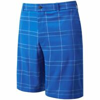 Callaway Golf Cooling+ Plaid Opti-dri Stretch Mens Golf Shorts