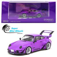 Tarmac Works 1:64 RWB Porsche 911 (993) Rotana (Purple) 2020 Hobby64