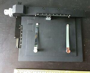 Meiji Techno Graduated Mechanical Stage MA564, clean!