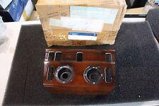 MERCEDES w124-medio console Mascherina clima radice legno 1246807718-NUOVO NOS
