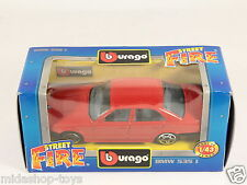 [PG3-26] BBURAGO BURAGO 1/43 STREET FIRE #4158 BMW 535 I 535I RED ROSSO NEW