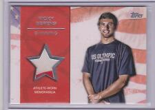 RARE 2012 TOPPS OLYMPIC RICK BERENS SILVER RELIC CARD ~ 2 COLOR 24/50 ~ SWIMMING