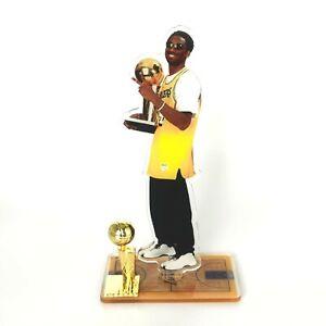 Kobe Bryant Standing Figure - Kobe Winning NBA Championship Trophy
