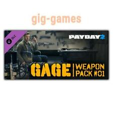 PAYDAY 2: Gage Weapon Pack #01 AddOn/DLC PC Steam Download Link DE/EU/USA Key