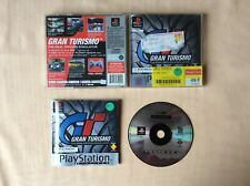 PS1 Gran Turismo Real Driving Simulator GT PLAYSTATION 1 SONY PAL FR COMPLET