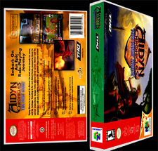Aidyn Chronicles The First Mage - N64 Reproduction Art Case/Box No Game.