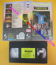 VHS IRON MAIDEN 12 wasted years 1987 PICTURE MUSIC MVN9911522 no cd lp dvd(VM10)