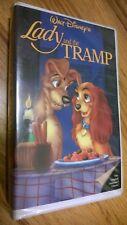 "Disney ""LADY and the TRAMP"" Original Black Diamond Edition on VHS #582"