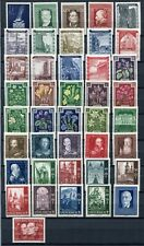 AUSTRIA 1948 MNH Lot 41 Stamps