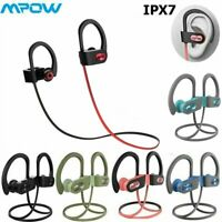 Mpow Flame Wireless Bluetooth Headphones Sports Richer Bass Headsets Gym Earbuds