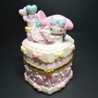 Rare Sanrio My Melody Accessory Case Jewelry Box 2013 Figure Doll Figurine F/S