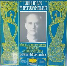 LP - Furtwängler - Händel Concerti Grossi OP.6 Nr. 5&10 - Bach Suite Nr.3,NM