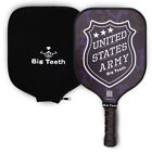 Pickleball Paddle Honeycomb Graphite USA ARMY with Neoprene Rackets Cover
