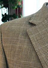 NEW! HACKETT Men's Jacket Wool Beige Prince of Wales British Blazer 40R $650