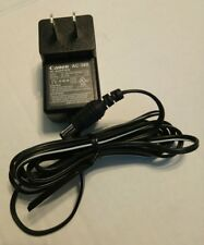OEM Canon AC-380 AC Power Supply Adapter Charger Output: 6.3V DC 0.4A