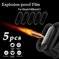 5PCS Smart Bracelet OLED Display Protective Film Waterproof For Xiaomi Mi Band 3