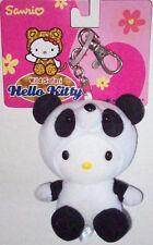Hello Kitty Wild Safari PANDA Clip-On New 2002 Sanrio