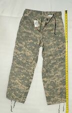 "26"" inseam x 27-31"" waist  cotton poly camo army pants 8416 adult XS short USA"